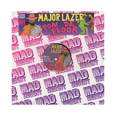 "Major Lazer - 'Pon De Floor/ Pon De Floor (Remixes)' [(Black) 12"" Vinyl Single]"