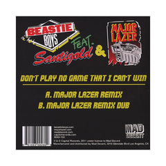"<!--020120306040885-->Beastie Boys - 'Don't Play No Game That I Can't Win (Major Lazer Remix)' [(Yellow) 7"" Vinyl Single]"