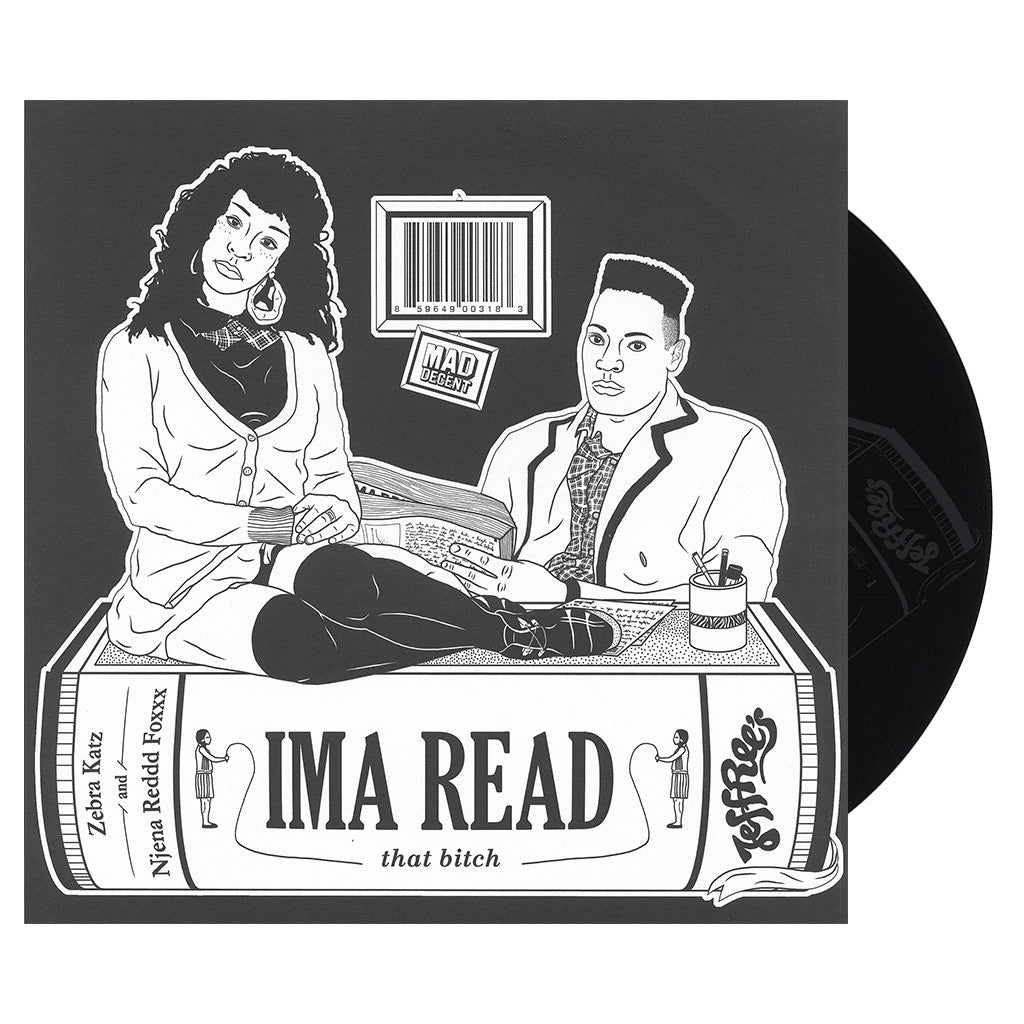"<!--120130122052487-->Zebra Katz - 'Ima Read' [(Picture Disc) 10"" Vinyl Single]"