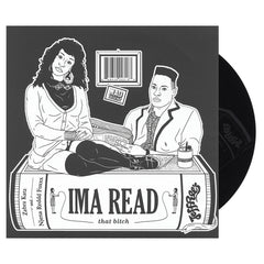"<!--120130122052487-->Zebra Katz - 'Ima Read' [(Picture Disc) 10"""" Vinyl Single]"