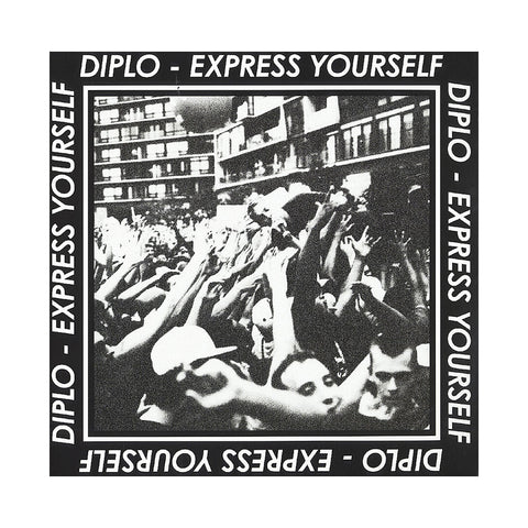 "Diplo x Serato Pressings - 'Express Yourself EP' [(Red) 12"""" Vinyl Control [2x12""""]]"