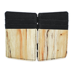 <!--020120619046326-->FLuD Watches - 'Magic Wallet - Birch Wood' [(Wood) Wallet]