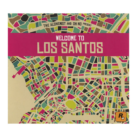 Various Artists (Alchemist & Oh No Present) - 'Welcome To Los Santos' [CD]