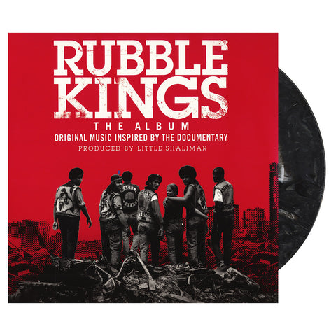 "[""Various Artists - 'Rubble Kings: The Album (Original Music Inspired By The Documentary)' [(Black, Gray & White Marble) Vinyl [2LP]]""]"