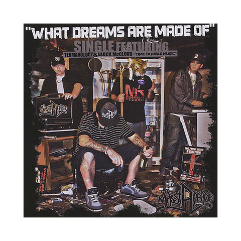 "[""Masstapeace - 'What Dreams Are Made Of EP' [CD]""]"