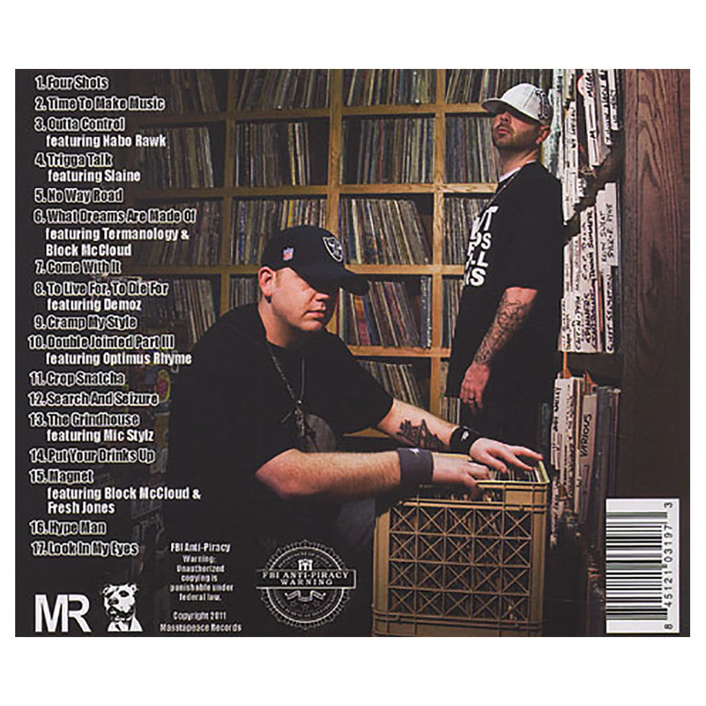 <!--2011012554-->Masstapeace - 'Time 2 Make Music' [CD]