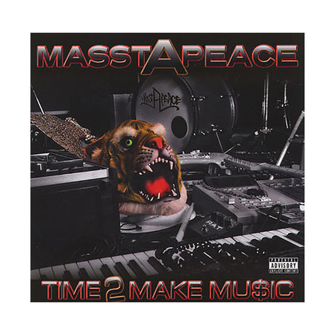 Masstapeace - 'Time 2 Make Music' [CD]