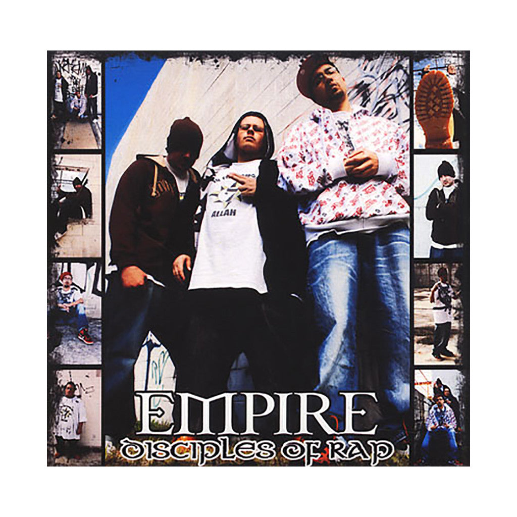 <!--020100601022460-->Empire - 'Disciples Of Rap' [CD]