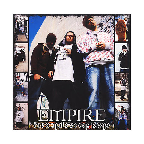 Empire - 'Disciples Of Rap' [CD]