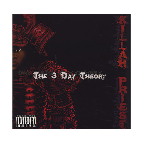 Killah Priest - 'The 3 Day Theory' [CD]