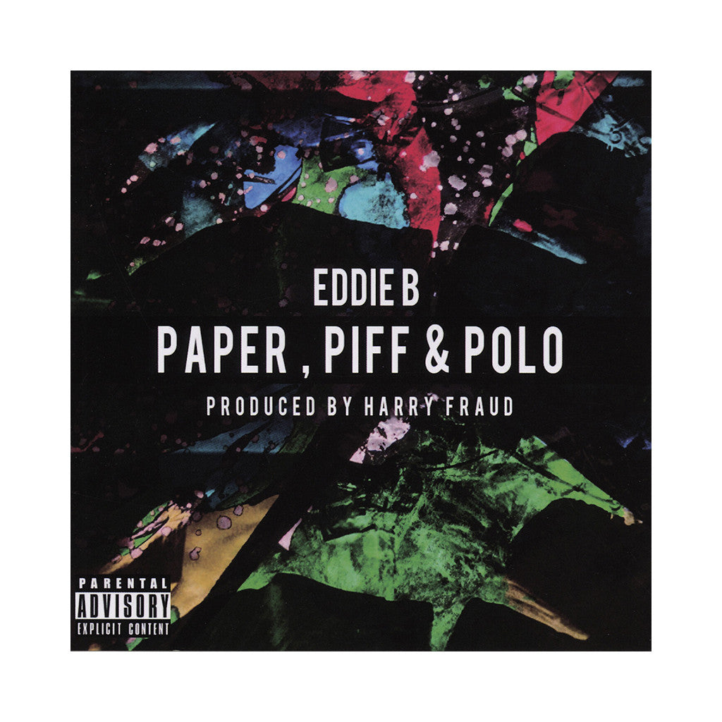 <!--020131119060693-->Eddie B w/ Harry Fraud - 'Paper, Piff & Polo' [CD]