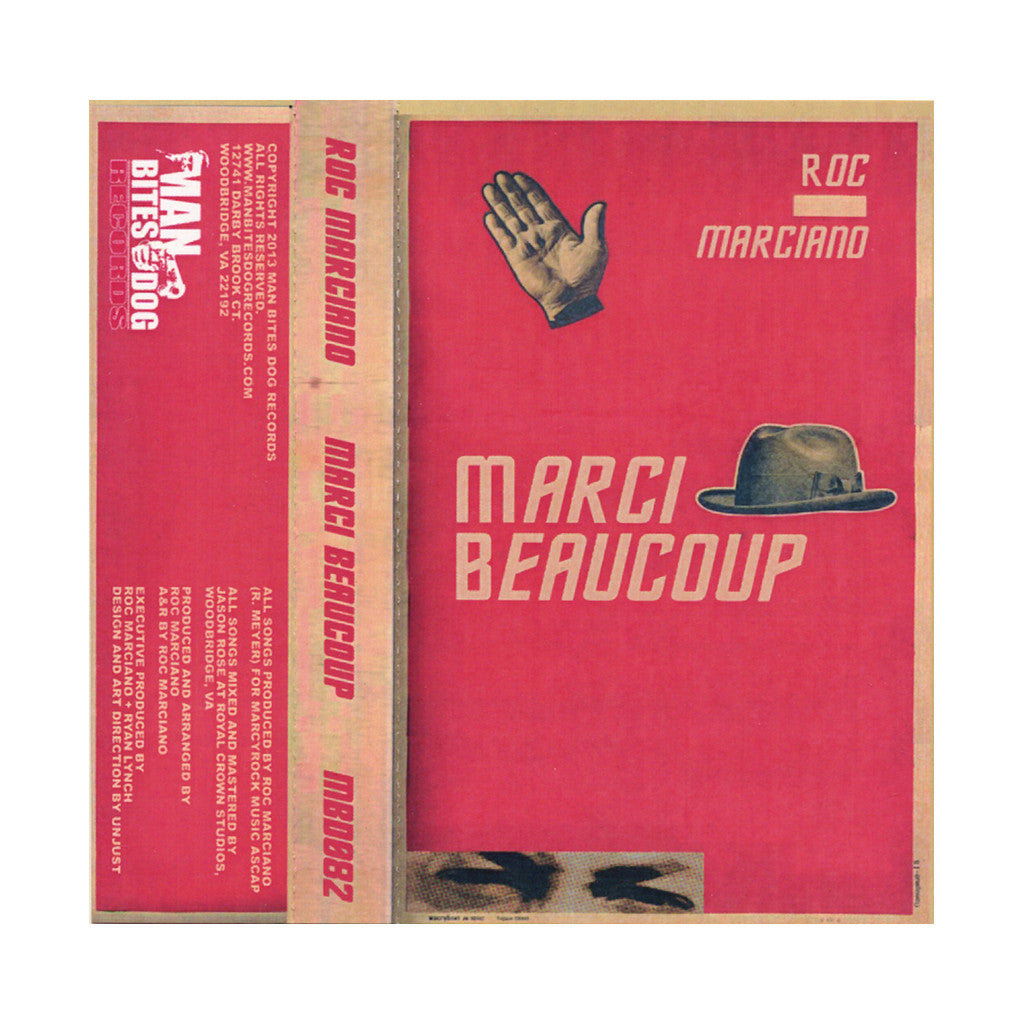<!--020131224063303-->Roc Marciano - 'Marci Beaucoup' [(Red) Cassette Tape]