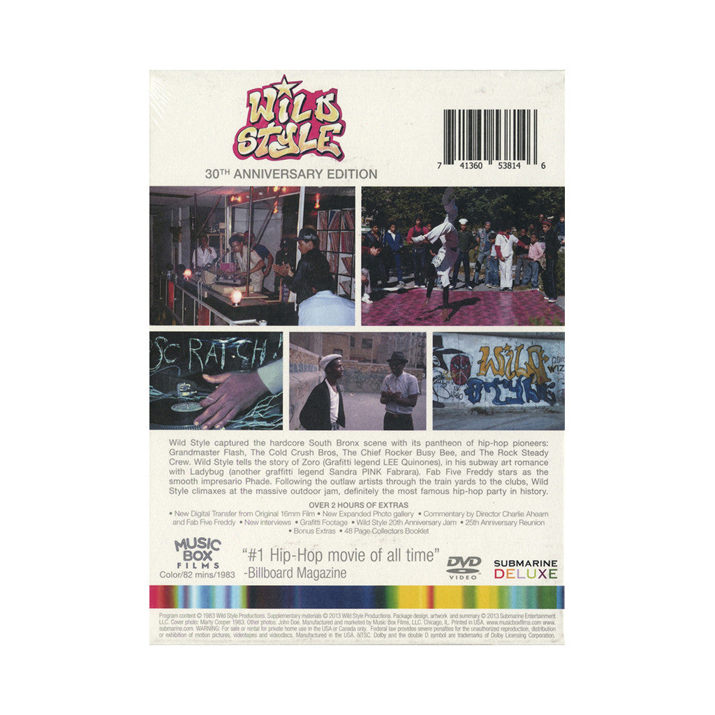 <!--120131015060712-->Wild Style - 'The Movie: 30th Anniversary Edition' [DVD [2DVD]]