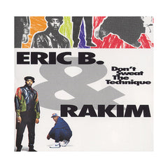 <!--019920623003529-->Eric B. & Rakim - 'Don't Sweat The Technique' [CD]