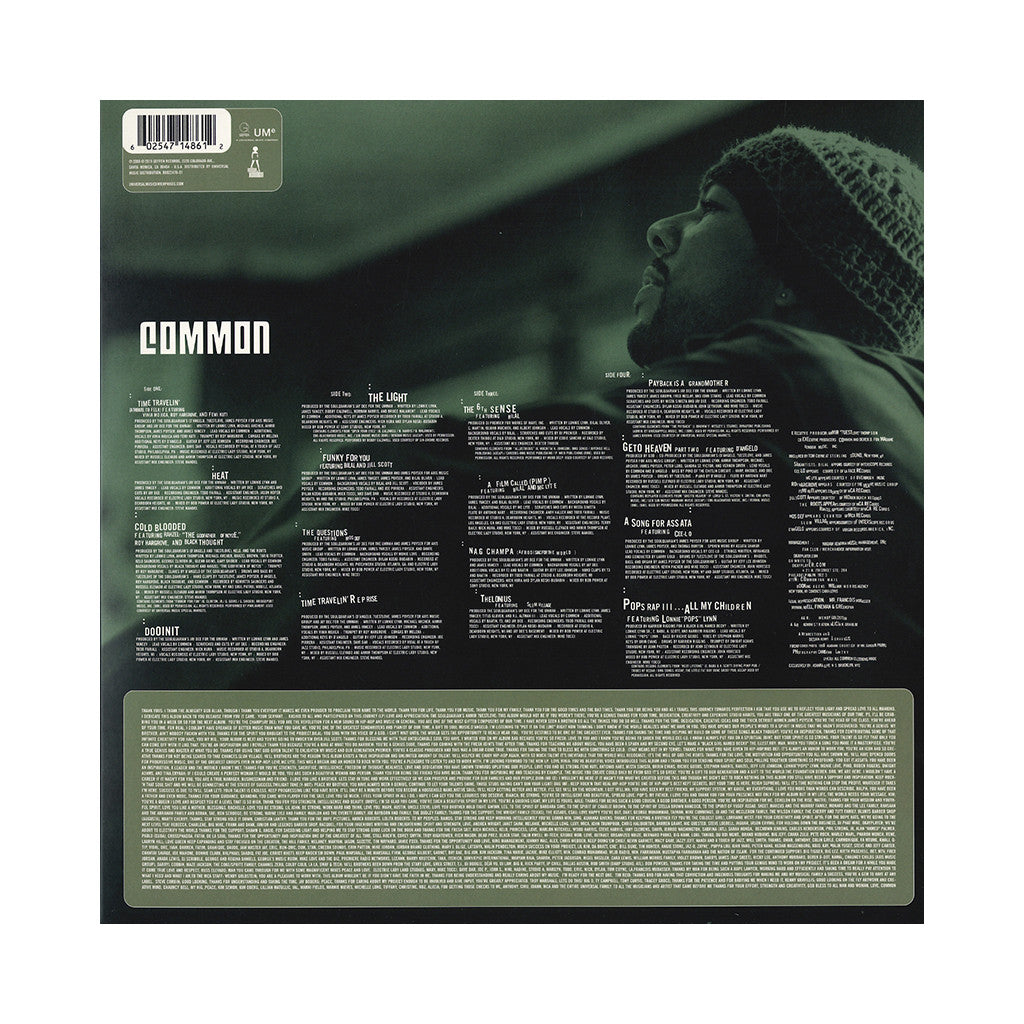 Common - Like Water For Chocolate - Vinyl LP - cover art, release date