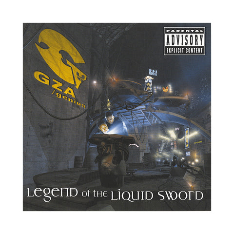 GZA/ Genius - 'Legend Of The Liquid Sword' [CD]