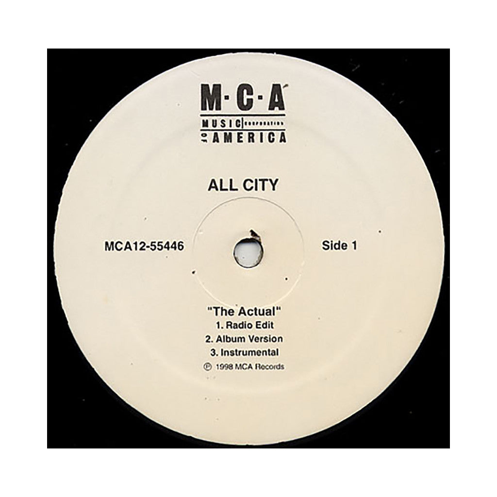 <!--2008072344-->All City - 'The Actual' [Streaming Audio]