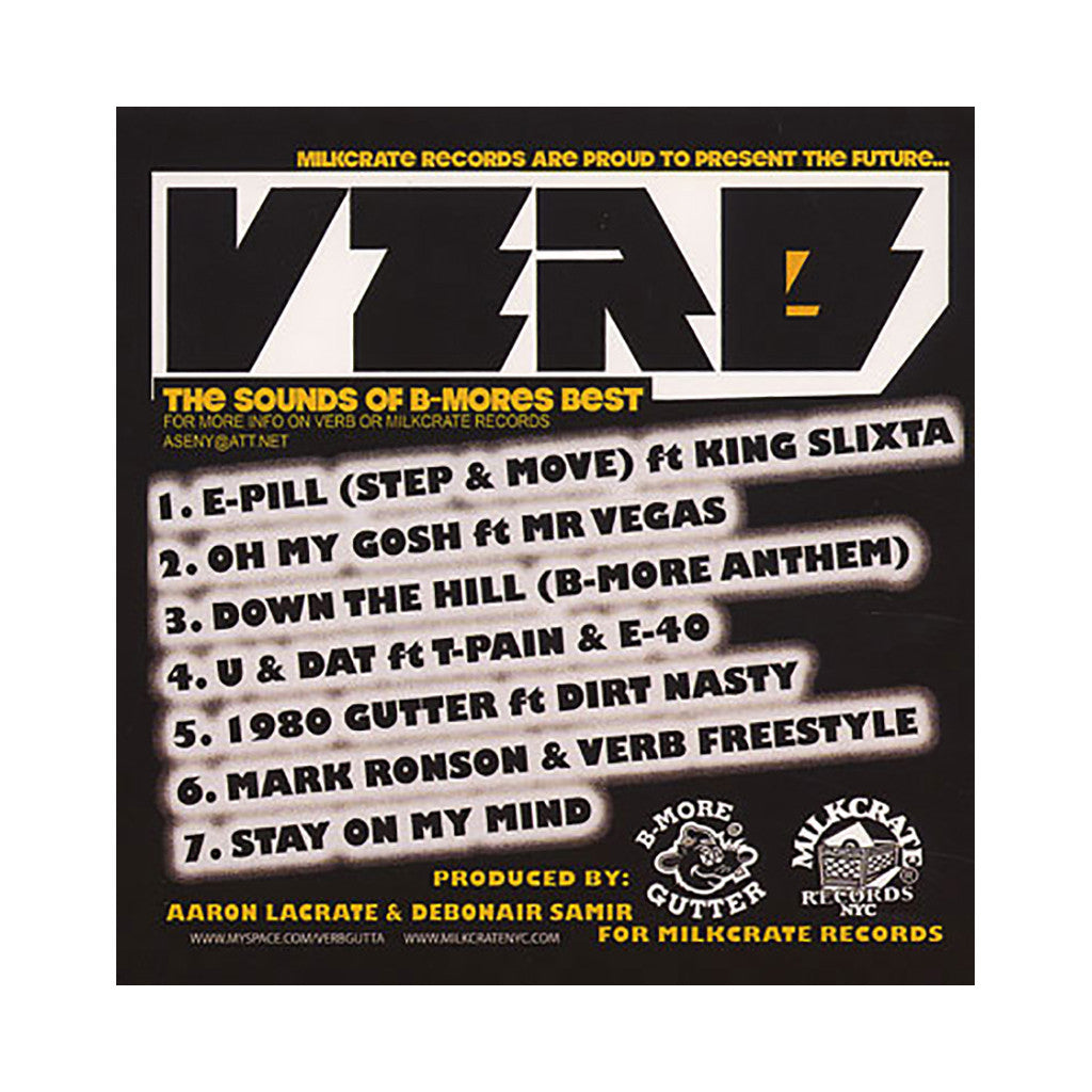 Verb - 'The East Side Extraterrestrial EP' [CD]