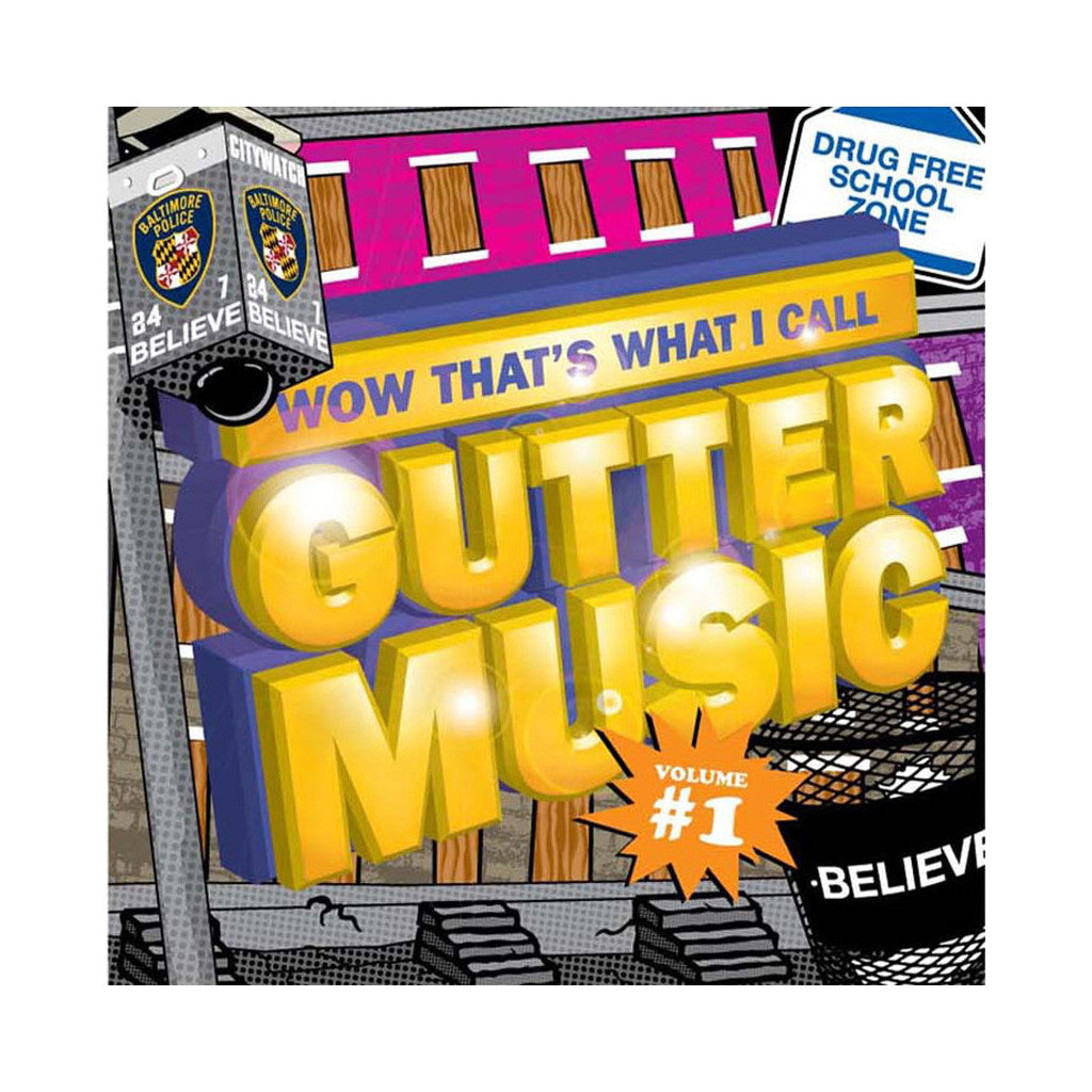 Aaron LaCrate - 'Wow That's What I Call Gutter Music Vol. 1' [CD]