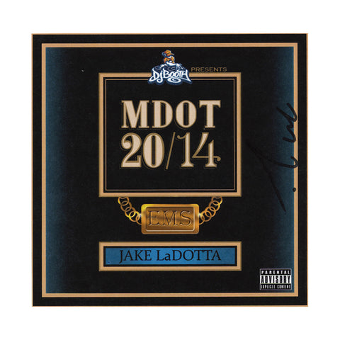 M-Dot (DJ Booth Presents) - 'Jake LaDotta' [CD]