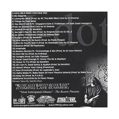 M-Dot (Mixed By: Pauly Fingaz) (Hosted By: DJ TKO) - 'M.oney D.oesn't O.wn T.hought' [CD]