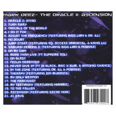 <!--020121127052694-->Mark Deez - 'The Oracle II: Ascension' [CD]