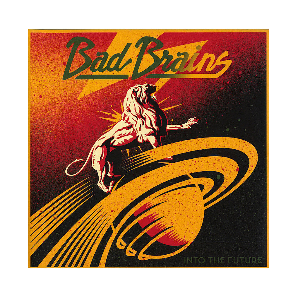 Bad Brains - 'Into The Future' [(Red) Vinyl LP]