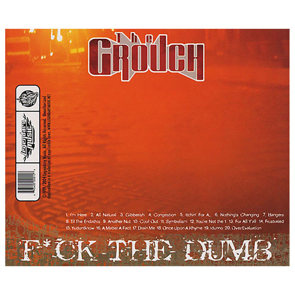 The Grouch - 'Fuck The Dumb' [CD]