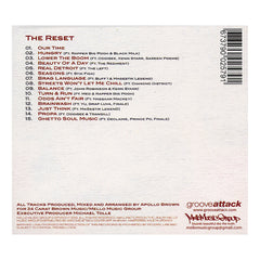 <!--020100518021076-->Apollo Brown - 'The Reset' [CD]
