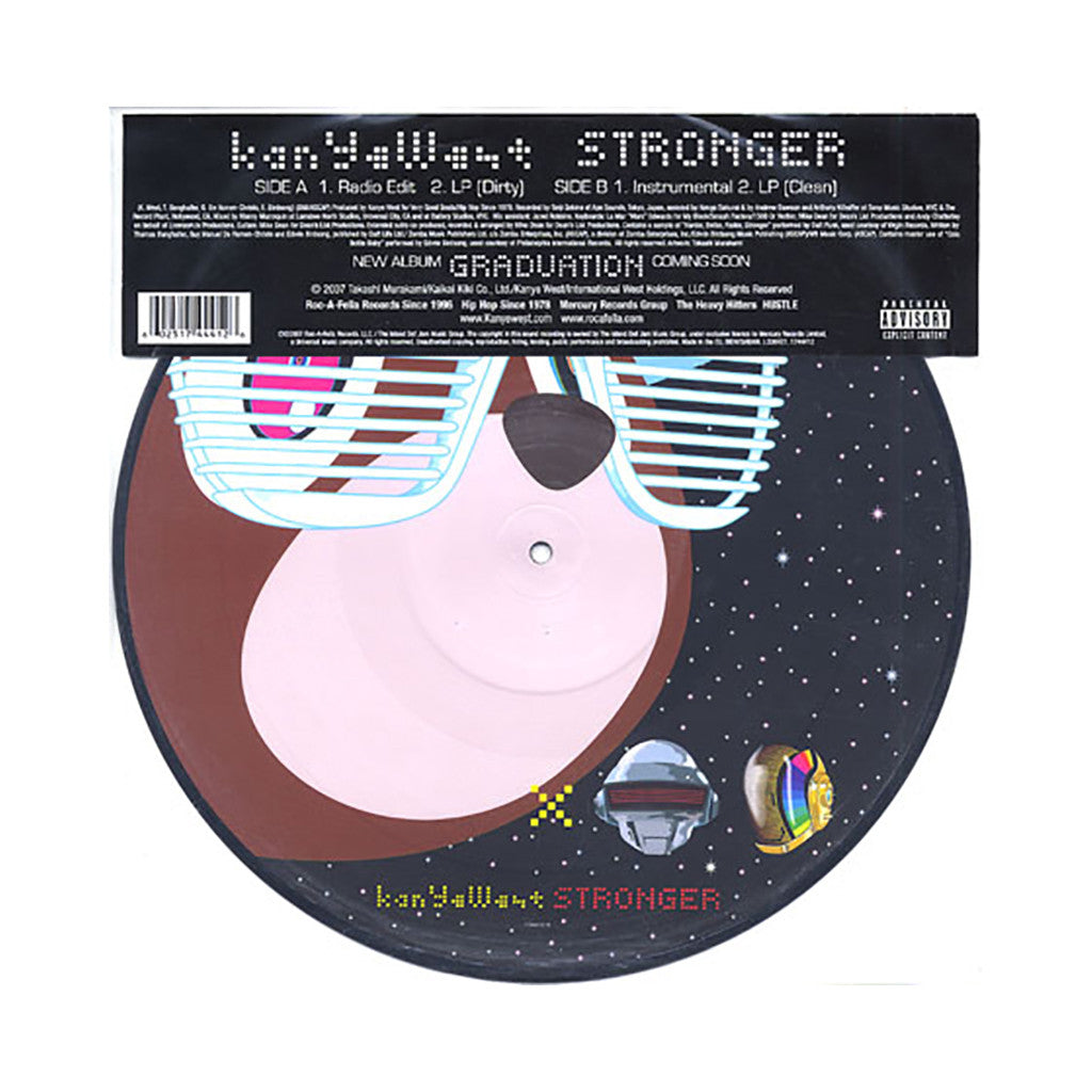 "<!--020070904010437-->Kanye West - 'Stronger' [(Picture Disc) 12"""" Vinyl Single]"