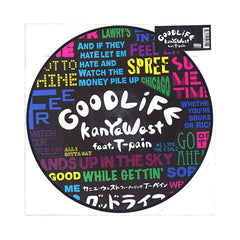 "Kanye West - 'Good Life/ Can't Tell Me Nothing (Remix)' [(Picture Disc) 12"" Vinyl Single]"