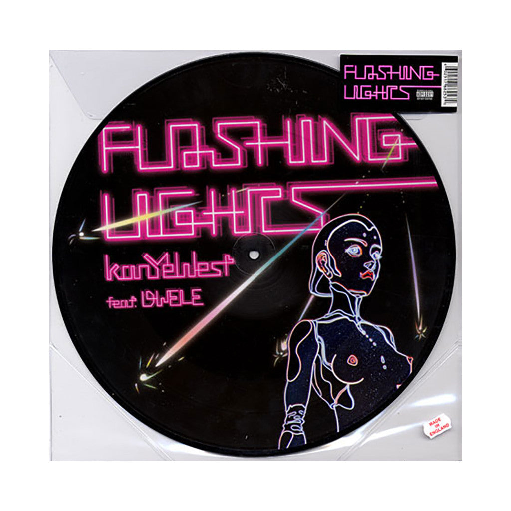 "Kanye West - 'Flashing Lights/ Stronger (Remix)' [(Picture Disc) 12"" Vinyl Single]"