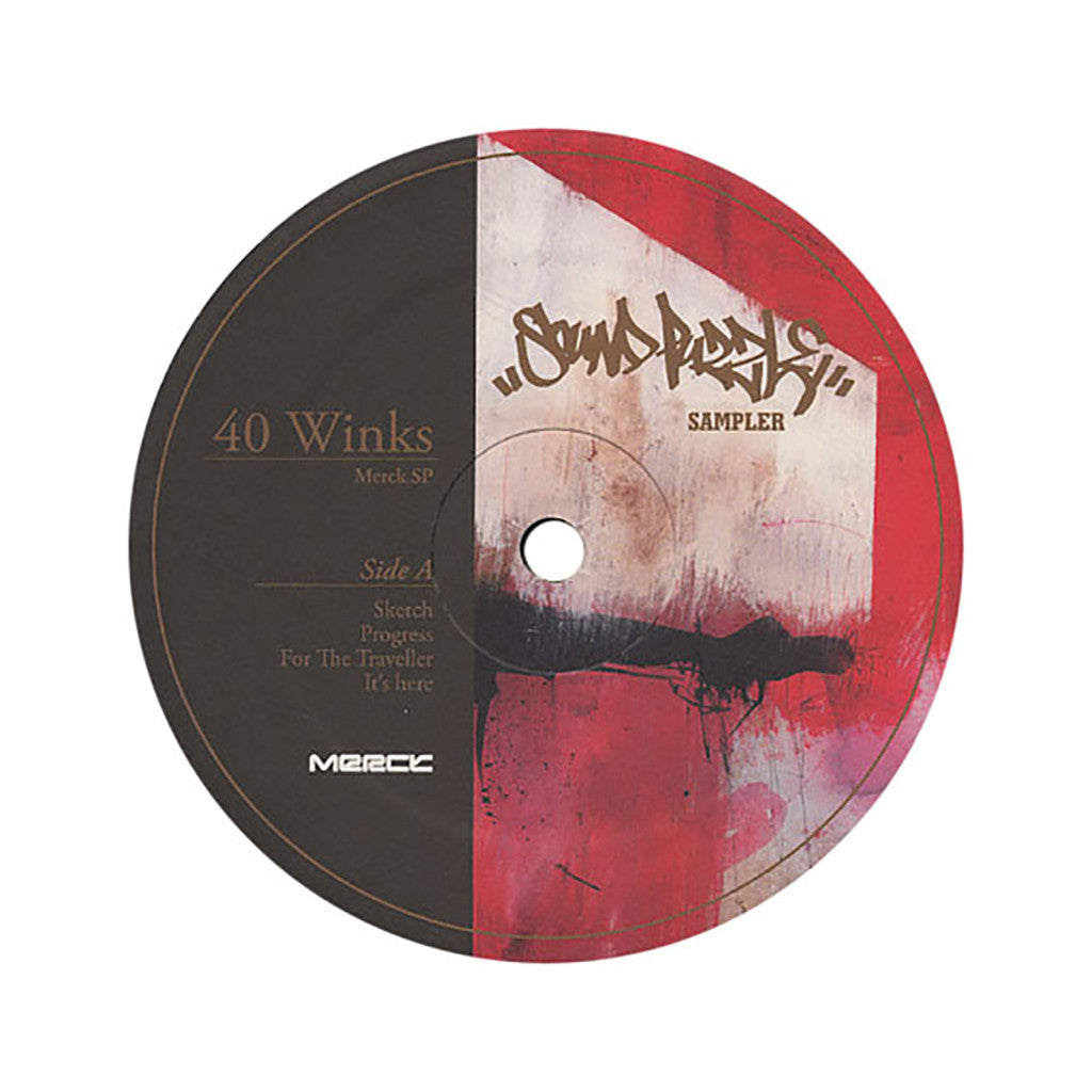 40 Winks - 'Sound Puzzle Sampler' [(Black) Vinyl EP]