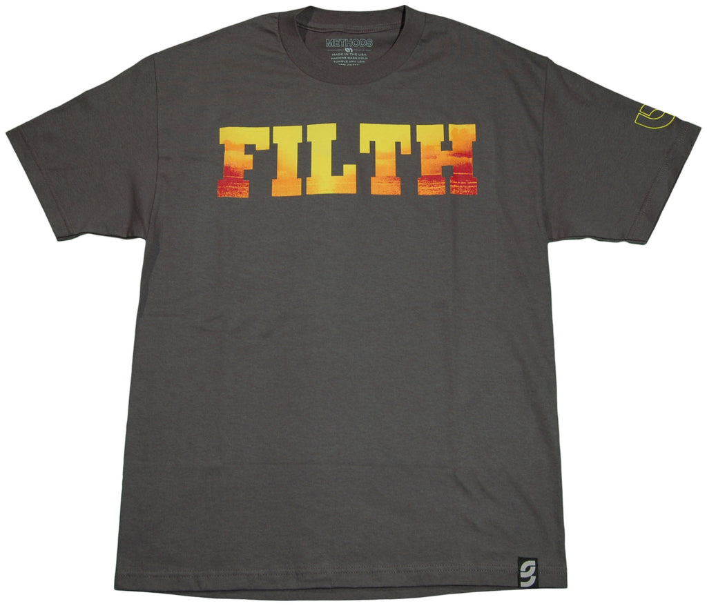 <!--2011070553-->Methods NYC - 'The Filthy Tee' [(Dark Gray) T-Shirt]