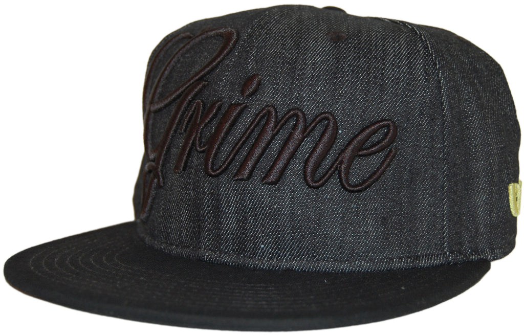 <!--2011070544-->Methods NYC - 'The Grime' [(Black) Fitted Hat]