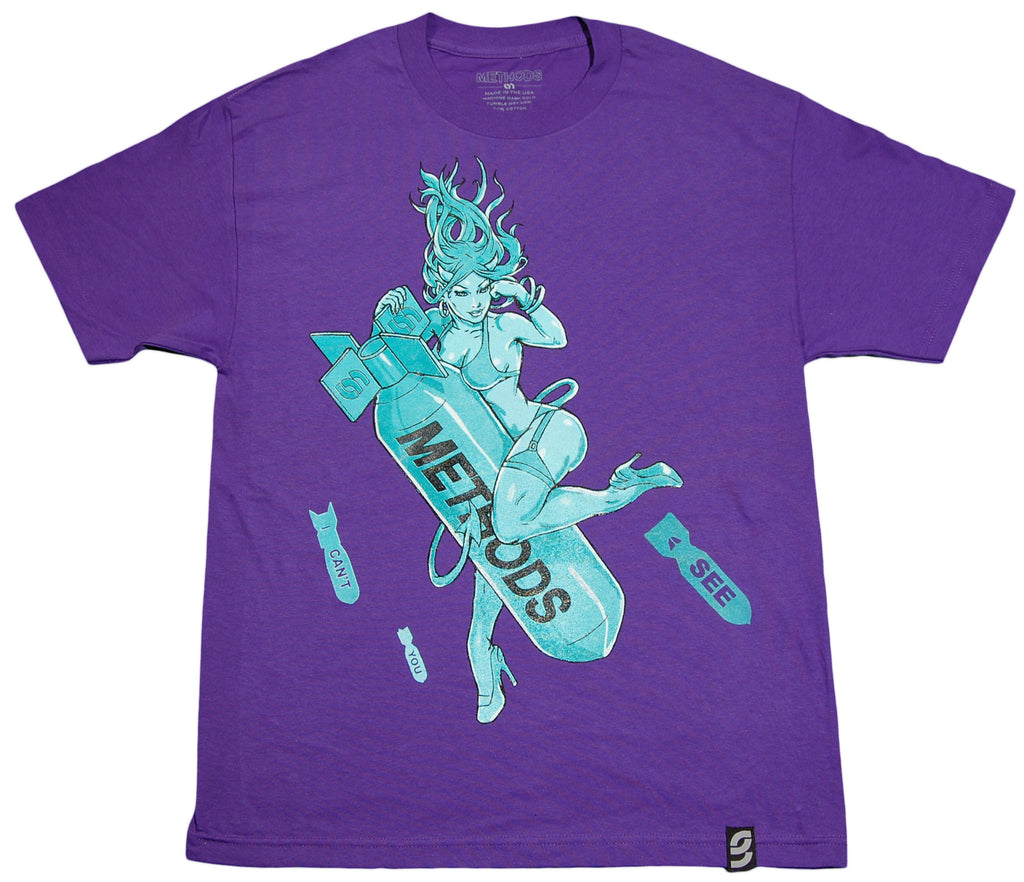 <!--2011121358-->Methods NYC - 'The End' [(Purple) T-Shirt]