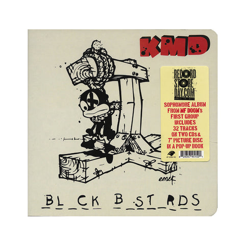 KMD - 'Black Bastards: Deluxe Pop-Up Book' [CD [2CD]]