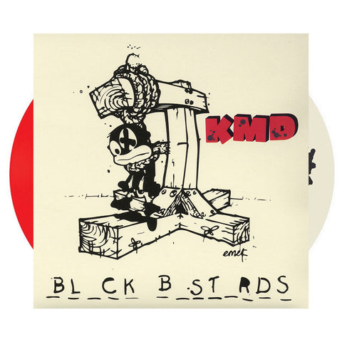 KMD - 'Black Bastards (16 Page Booklet)' [(Red + Picture Disc) Vinyl [2LP]]