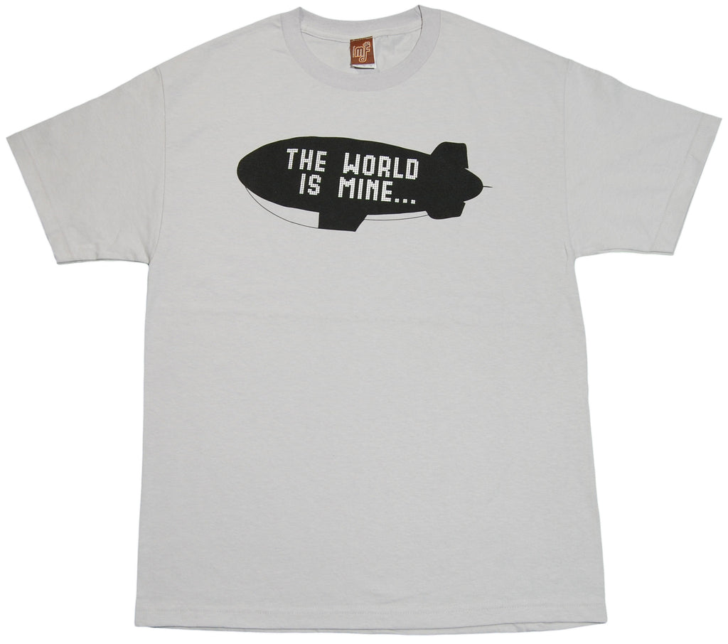 <!--2012011040-->Mixer Friendly Positive Apparel - 'Blimp' [(Light Gray) T-Shirt]