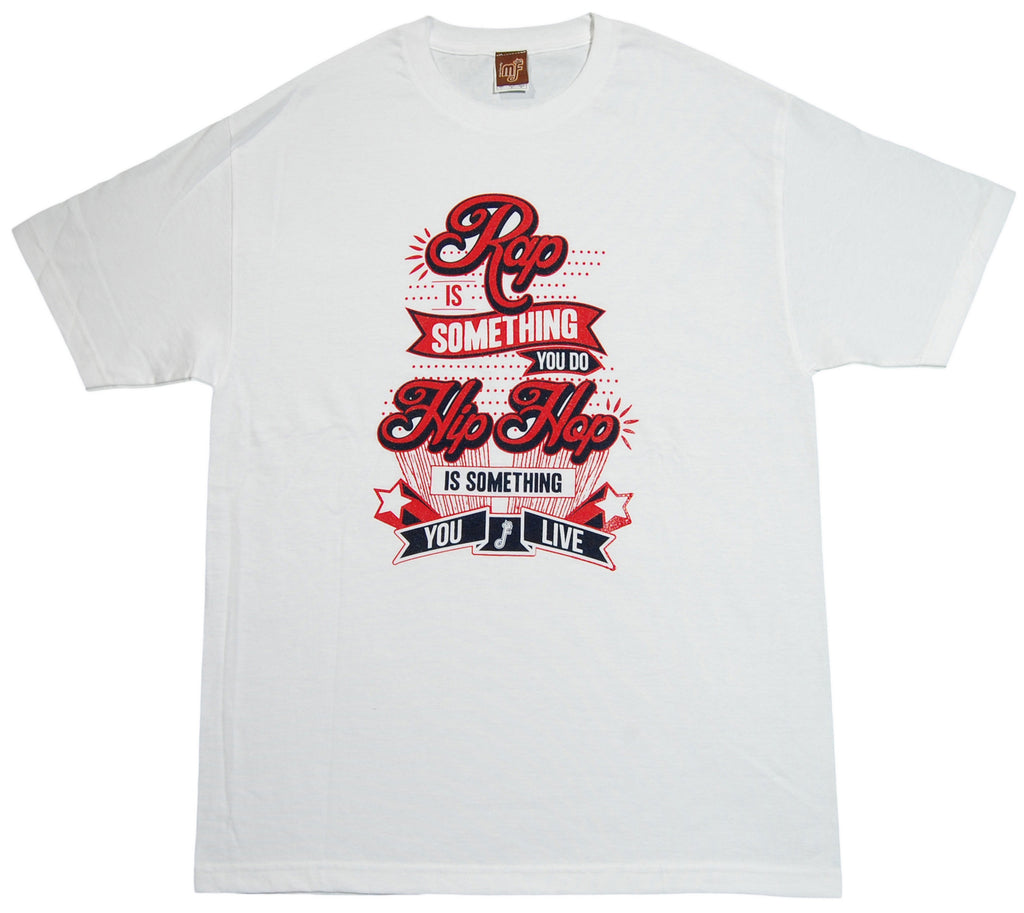 <!--2013010835-->Mixer Friendly Positive Apparel - 'Rap v.2' [(White) T-Shirt]
