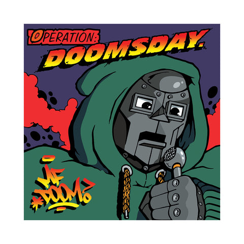 "[""M.F. DOOM - 'Operation: Doomsday (ORIGINAL COVER ART w/ BLACK VINYL)' [(Black) Vinyl [2LP]]""]"