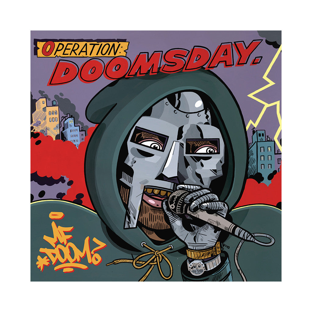 M.F. DOOM - 'Operation: Doomsday (JANK + JAGEL COVER ART w/ BLACK VINYL)' [(Black) Vinyl [2LP]]