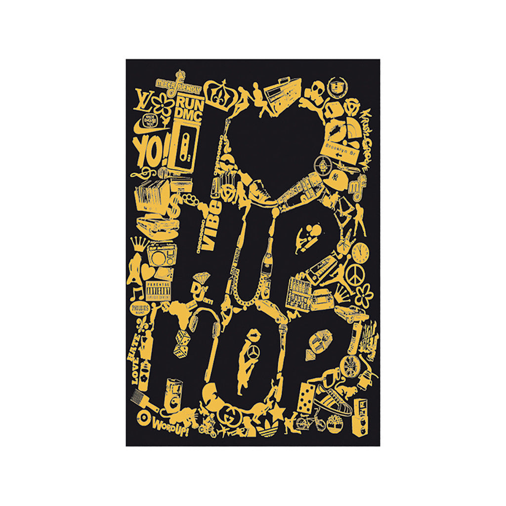 <!--020110705032256-->Mixer Friendly Positive Apparel - 'Clip Hop' [Posters & Prints]