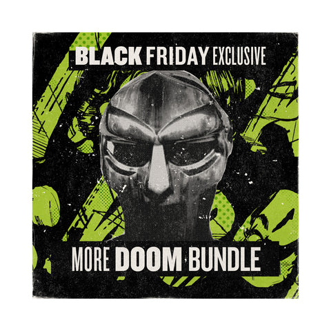 "[""M.F. DOOM - ''More DOOM' Bundle (x4 Vinyl Records)' [(Black) Vinyl LP]""]"