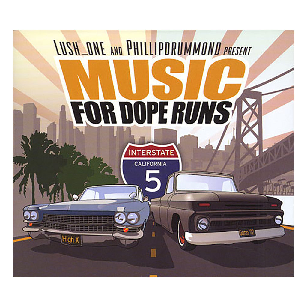 Lush One & Phillipdrummond - 'Music For Dope Runs' [CD]