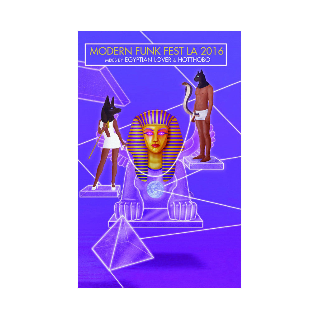 The Egyptian Lover & Hotthobo - 'Modern Funk Fest LA 2016' [Cassette Tape]