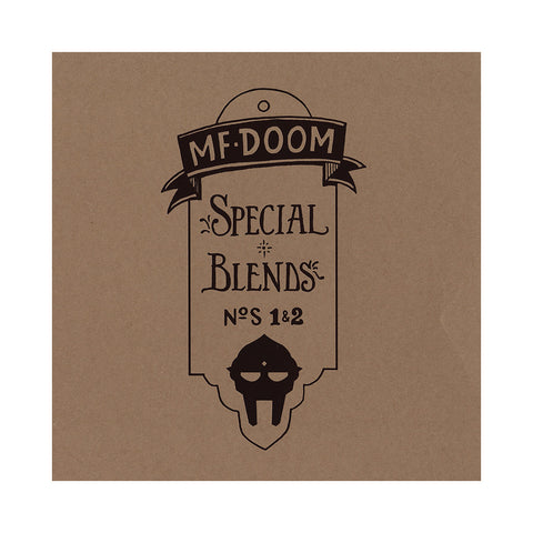 "[""M.F. DOOM - 'Special Blends Vol. 1 & 2' [(Black) Vinyl [2LP]]""]"