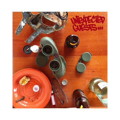 "[""M.F. DOOM - 'Unexpected Guests' [(Black) Vinyl [2LP]]""]"