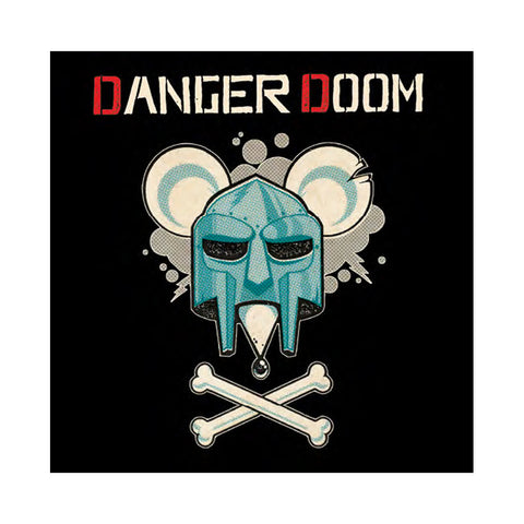 "[""DANGER DOOM - 'The Mouse and The Mask: Official Metalface Version' [(Black) Vinyl [3LP]]""]"