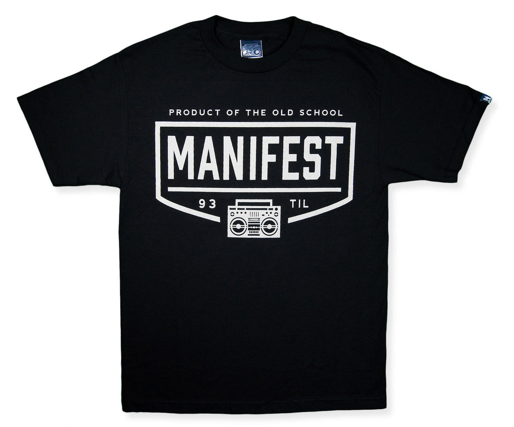 <!--2014052142-->Manifest - 'Product Of' [(Black) T-Shirt]